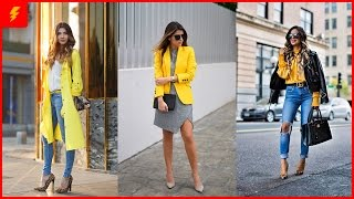 Chic Yellow Outfits You Will Love To Copy This Spring