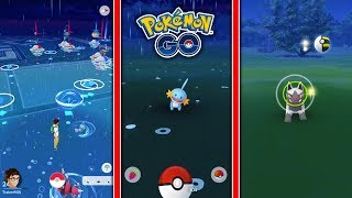 WILD MUDKIP, POOCHYENA, & MORE CAUGHT IN POKEMON GO! FIRST EVER GENERATION 3 GAMEPLAY! - POKEMON GO