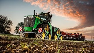 John Deere 9RX – Gwiazda pokazów i wystaw rolniczych 2016