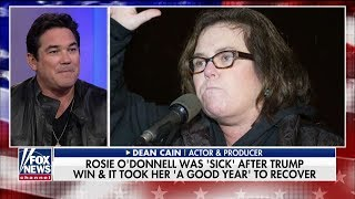 Dean Cain Blasts Rosie O'Donnell's Call for Military Action Against Trump