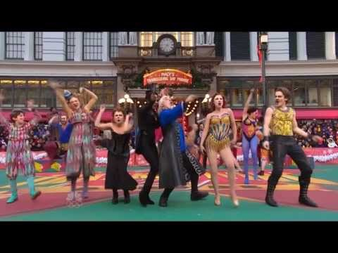 'Pippin' performance - Macy's Thanksgiving Day Parade, 2013