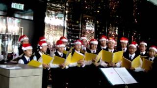 2011年12月25日 聖嘉祿學校合唱團 麗思卡爾頓酒店 報