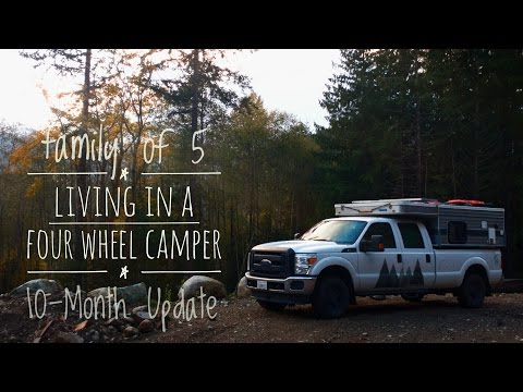 Living in a Four Wheel Camper: 10-Month Update  - YouTube