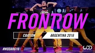 cbaction   frontrow   world of dance argentina qualifier 2016   wodarg16