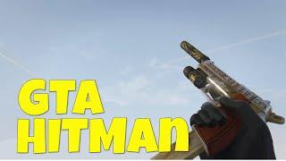 THE BLACK HITMAN! GTA V (Grand Theft Auto V / Grand Theft Auto 5 Troll Gameplay)