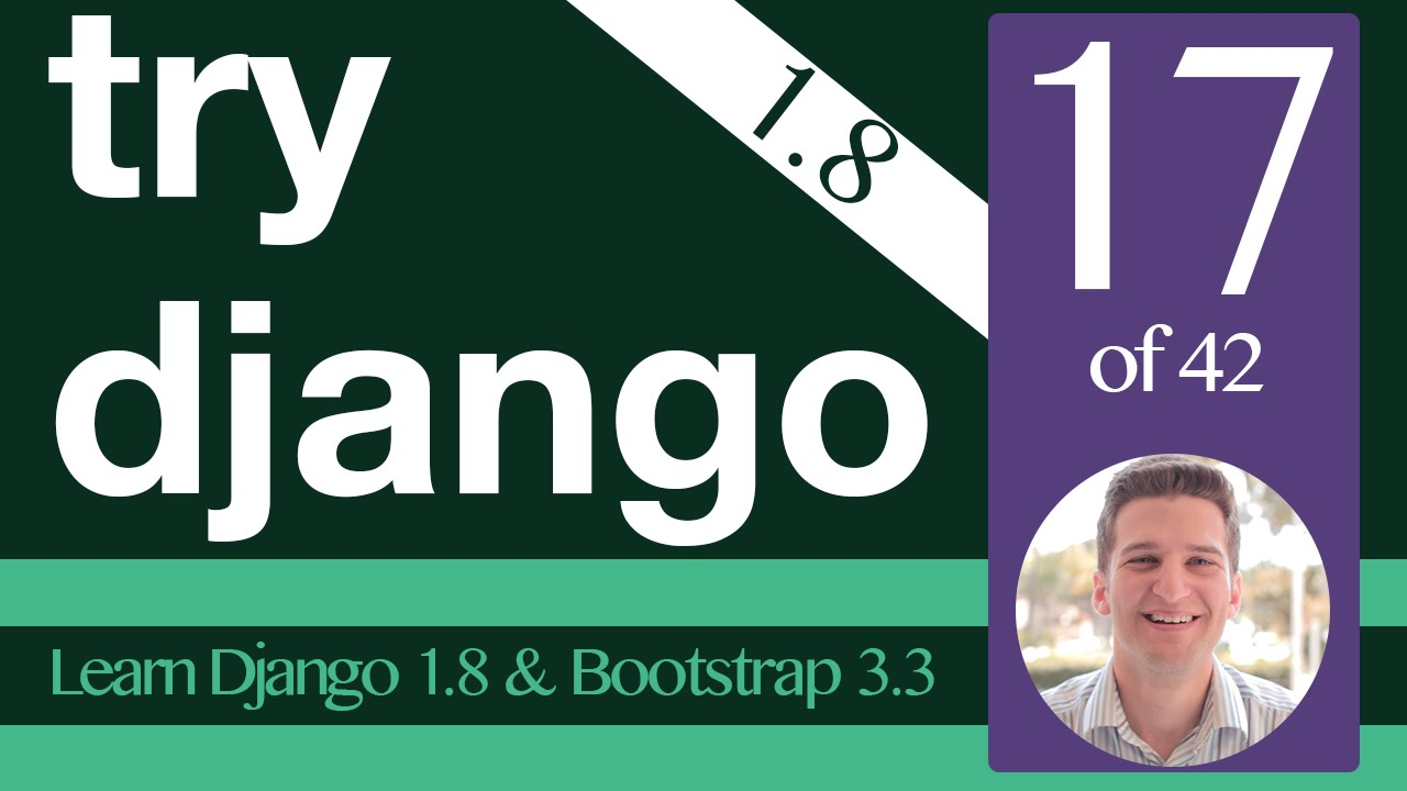 Try django 1. 8 tutorial 27 of 42 django registration redux.