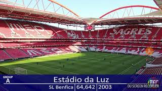 Stadiony liga mistrů 2017/2018