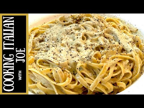 Fettuccine With Blue Cheese Pasta Sauce | Cooking Italian With Joe