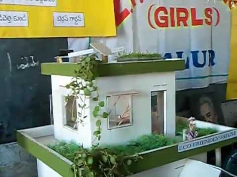 Eco friendly house for school project