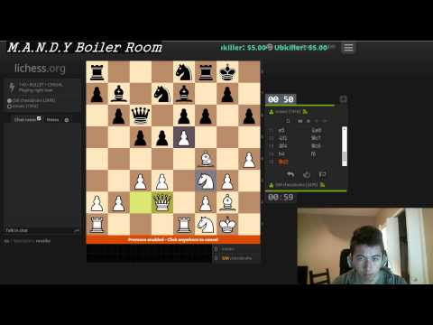 CHESS GAME WITHOUT BREATHING | GM ERIC HANSEN