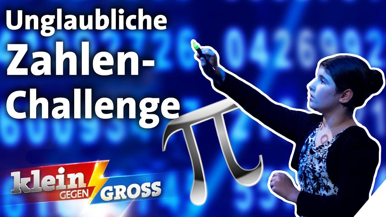 Kennt 10-Jährige mehr Nachkommastellen von Pi als Rechengenie Rüdiger Gamm? | Klein gegen Groß