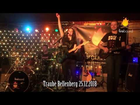firebound - live in der Traube Bellenberg am 25.12.2018