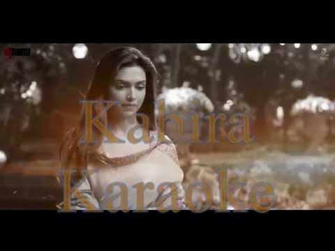 Kabira Original Karaoke | Ye Jawaani hai Deewani  | Dmusic Karaoke |