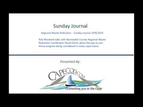 Regional Waste Reduction -- Sunday Journal 3/09/2014