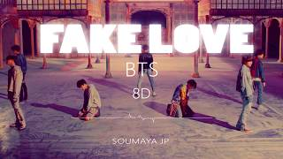 BTS (방탄소년단) - FAKE LOVE [8D USE HEADPHONE] 🎧 Resimi