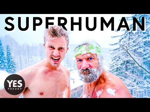 BECOMING SUPERHUMAN WITH ICE MAN - Wim Hof