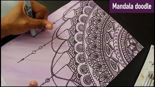 Mandala doodle- Dreamcatcher
