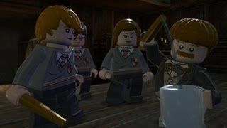 LEGO Harry Potter Years 5-7 Walkthrough Part 11 - Year 6 - A Not So Merry Christmas