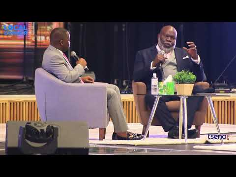 T. D.  Jakes Show Live In Botswana   YouTube