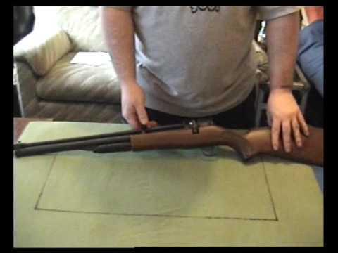 B45-3 SMK 12 Shot Repeater .177 pump up Air Rifle Review