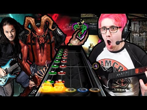 Speeding up the HARDEST Guitar Hero 3 songs