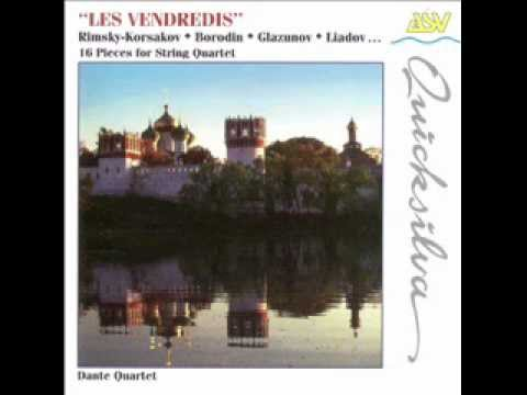 Les Vendredis ~ 16 pieces for string quartet (1 - 4)