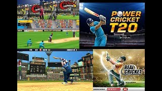 Top 5 BEST Cricket Games For Android 2017 HD