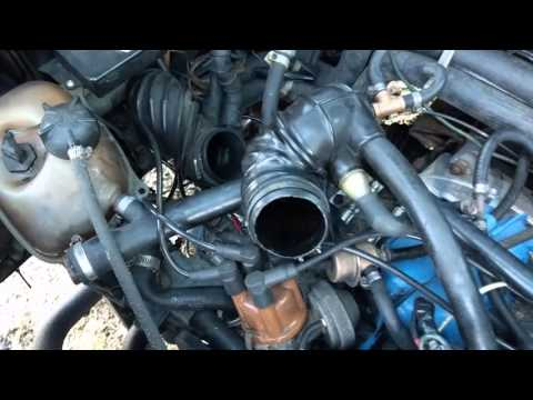 1983-1986 VW Vanagon How to fix Idle Problems