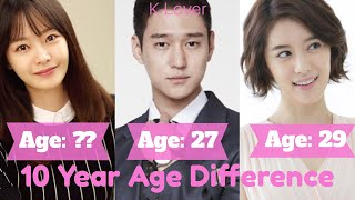 """Cross"" Korean Drama Cast Age Differences"