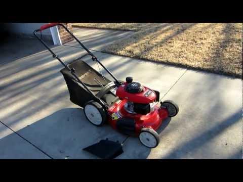 21 inch Troy-bilt mower with Honda engine