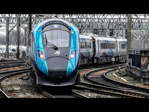 Trains at Manchester Piccadilly | 21/01/2020