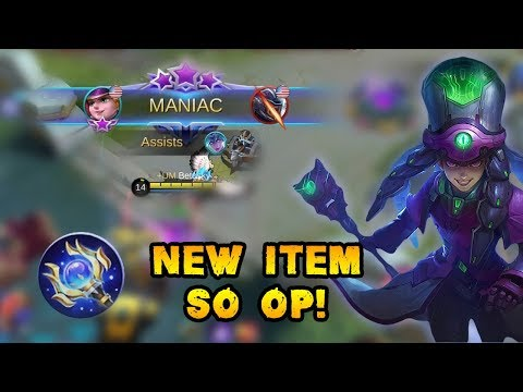 Wow...This New Item With Harley Is Very Deadly | Mobile Legends