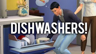 The Sims 4 Game Patch - Dishwashers!