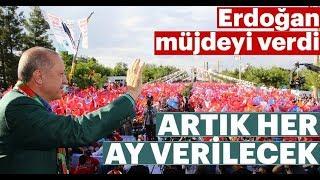 Erdoğan Emeklilere YENİ Müjde