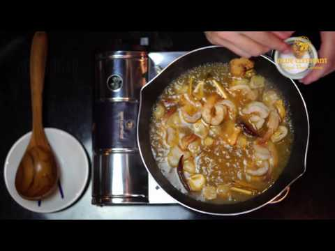 Thai Prawns Tom Yam Soup - Blue Elephant Paste