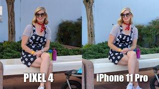 Google Pixel 4 vs iPhone 11 Pro Camera Test Comparison!