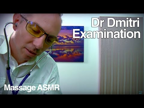 ASMR Dr Dmitri Role Play Face Skin Examination