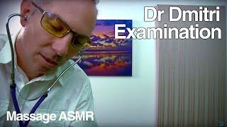 ASMR Dr Dmitri Role Play Face Skin Inspection