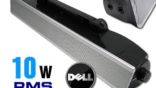 Dell ax510 stereo soundbar multimedia speaker review