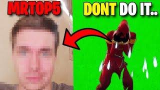 Finally Leaking MrTop5's Face Reveal..