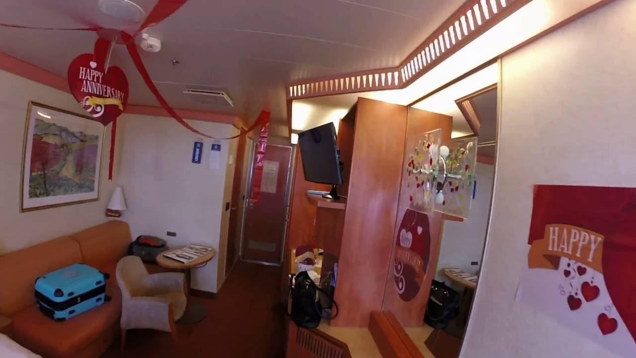Carnival Valor Room With A Balcony