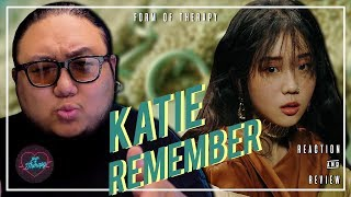"""Producer Reacts to Katie """"Remember"""""""