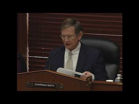 "Chairman Smith's Opening Statement on ""The National Science Foundation Budget Proposal for FY 2019"""