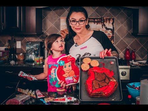Ariel Cake with JWOWW and Meilani