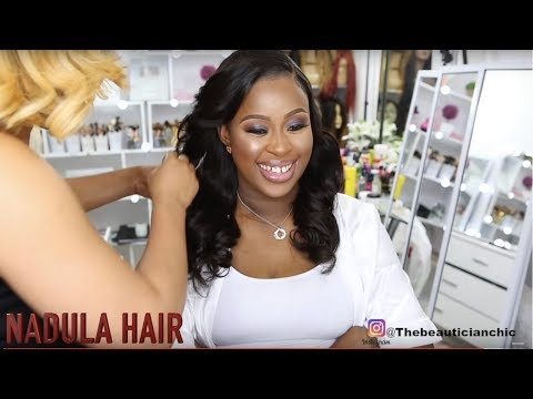 BRIDAL HAIR AND MAKEUP TRANSFORMATION 15|BRIDAL INSPIRATION |NADULA HAIR thumbnail