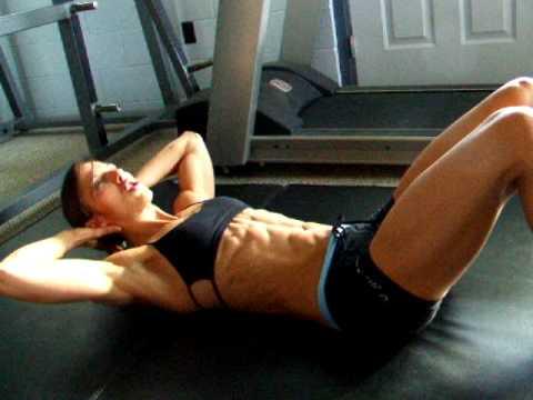 Fitness Tips with Chrissy Zmijewski: Abdominal Myths