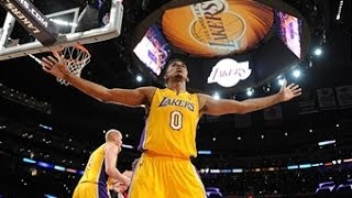 Nick Young Throws Down the Reverse on Mo Williams!