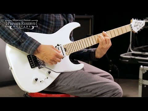 Jackson Custom Select Dinky Electric Guitar, Snow White