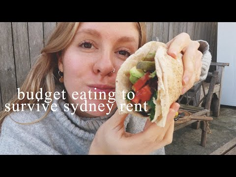 What I Eat On A Budget | Super Simple, Healthy Meals