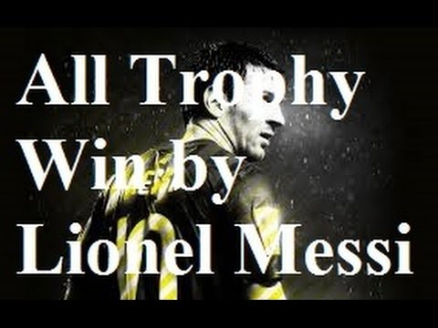 Lionel Messi All Trophy Individual Awards Won By Battle